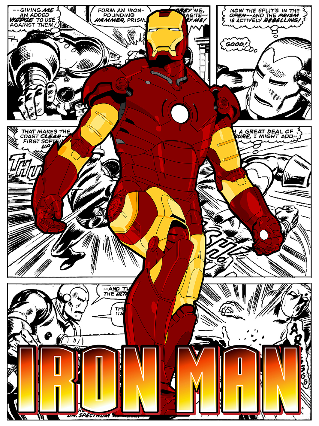 comic posters chris rhodes design